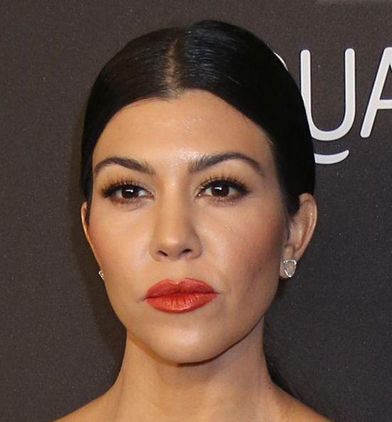 Kourtney Kardashian, makijaż