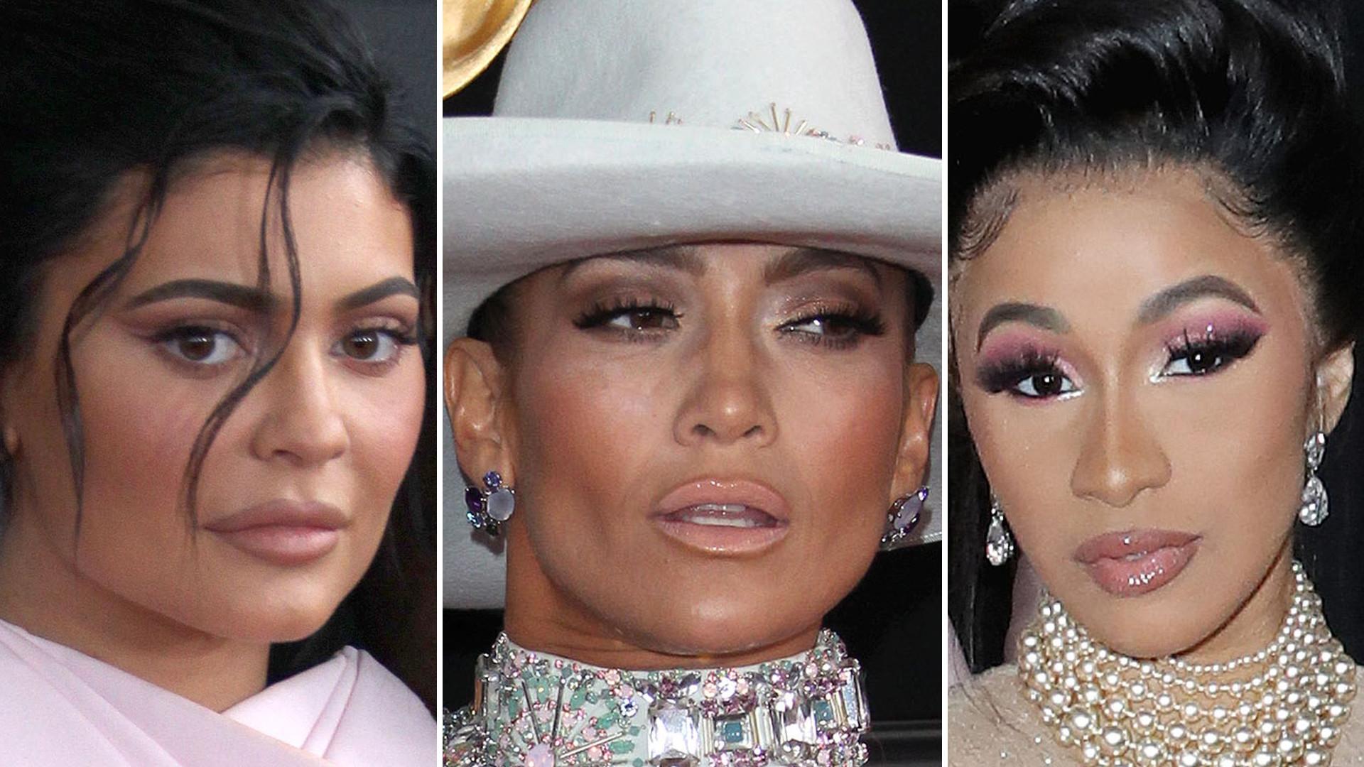 ZOOM na twarze gwiazd Grammy 2019