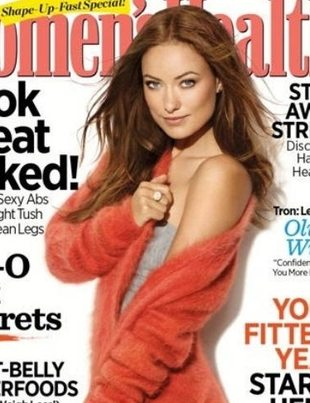 Olivia Wilde w Women's Health