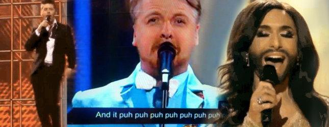 Najlepsze sceny z Eurowizji w gifach!