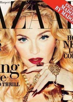 Madonna na okładce Harper's Bazaar – retusz doskonały? FOTO