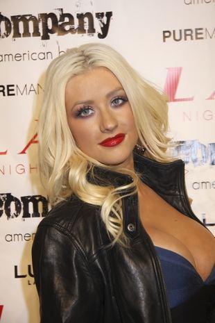 Christina Aguilera z synem