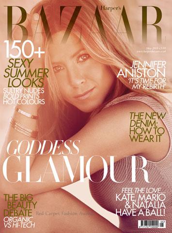 Jennifer Aniston w Harper's Bazaar (FOTO)
