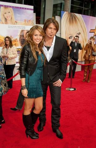 Rodzice Miley Cyrus kłócili się właśnie o nią