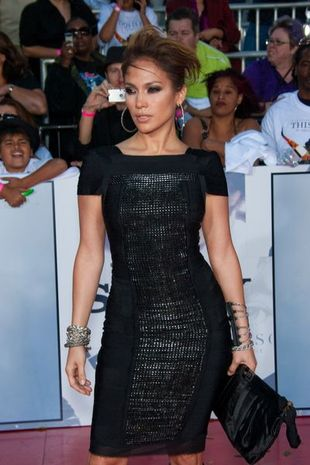 Jennifer Lopez na premierze This Is It (FOTO)