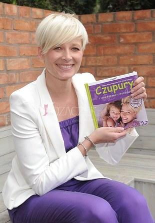 Odeta Moro-Figurska promuje swoją książkę (FOTO)