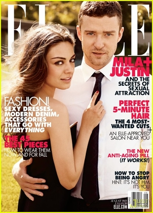 Kunis i Timberlake razem w Elle (FOTO)