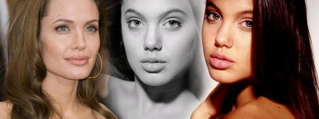Angelina Jolie pozuje w wieku 16 lat (VIDEO)