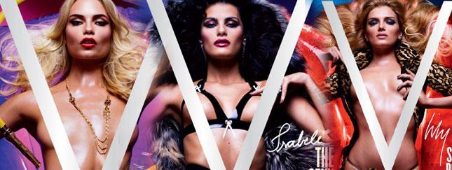 Pięć seksownych okładek magazynu V (FOTO)