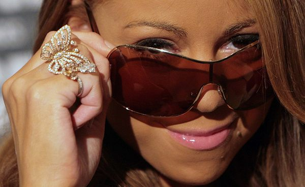 Mariah Carey śmieje się sama z siebie