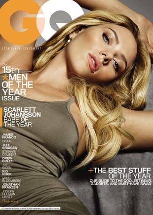 Scarlett Johansson kusi w GQ (FOTO)
