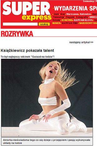 Weronika Książkiewicz pokazała biust