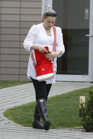 Kasia Bujakiewicz - przyszła mama pełna werwy (FOTO)