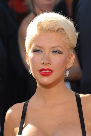 Aguilera rodziła w pełnym makijażu