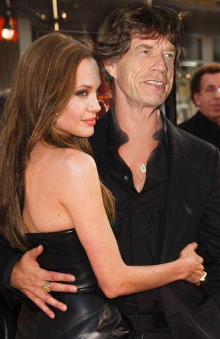 Angelina Jolie miała romans z Mickiem Jaggerem?