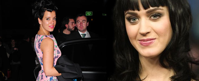 Lily Allen grozi Katy Perry
