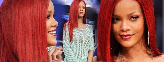 Rihanna nosi teraz długie włosy (FOTO)