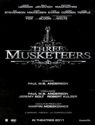 Trzej muszkieterowie, a w nim Orlando Bloom i Milla Jovovich