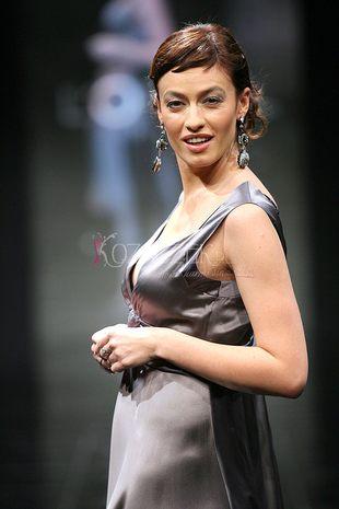 Magdalena Różczka w ciąży