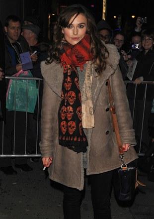 Keira Knightley w zimowym wydaniu (FOTO)