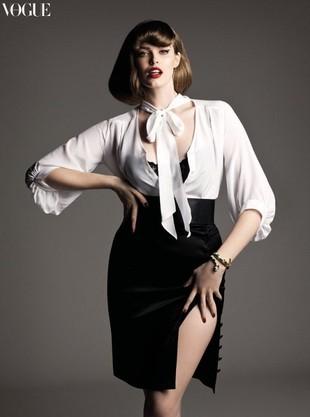 Rozmiar 38, czyli modelka plus-size, Robyn Lawley (FOTO)