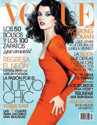Crystal Renn ma swoją pierwszą okładkę Vogue (FOTO)