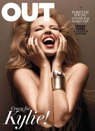Kylie Minogue w magazynie Out (FOTO)