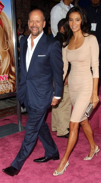 Bruce Willis z drugą Demi Moore (FOTO)