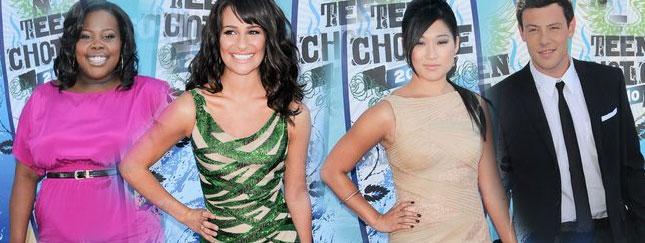 Gwiazdy Glee na Teen Choice Awards (FOTO)