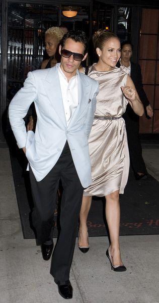 Marc Anthony i Jennifer Lopez uciekają se Stanów