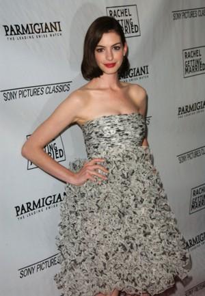 Anne Hathaway i jej kreacja