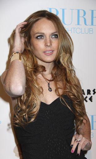 Lindsay Lohan nie płacze po Samancie Ronson