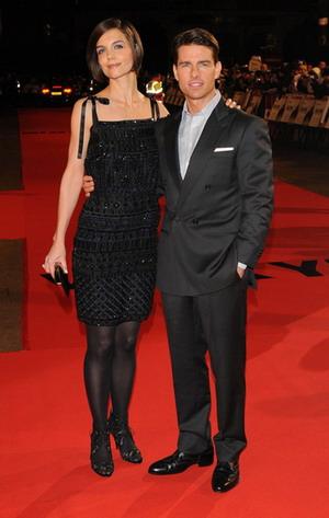 Katie Holmes i Tom Cruise gardzą Oskarami