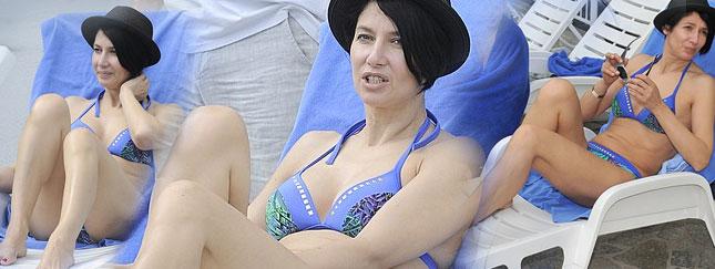 Grażyna Wolszczak elegancka w bikini (FOTO)