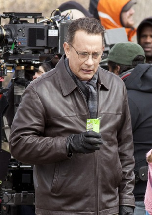 Tom Hanks na huśtawce (FOTO)