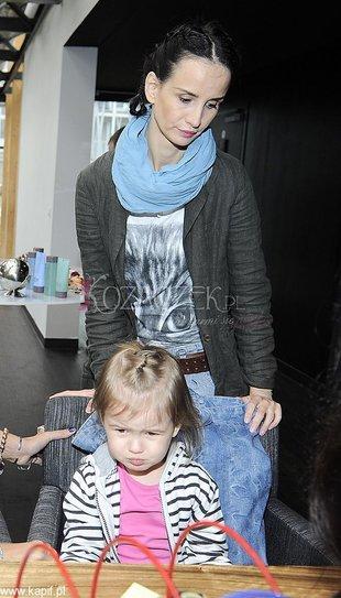 Viola Kołakowska z córką na imprezie (FOTO)