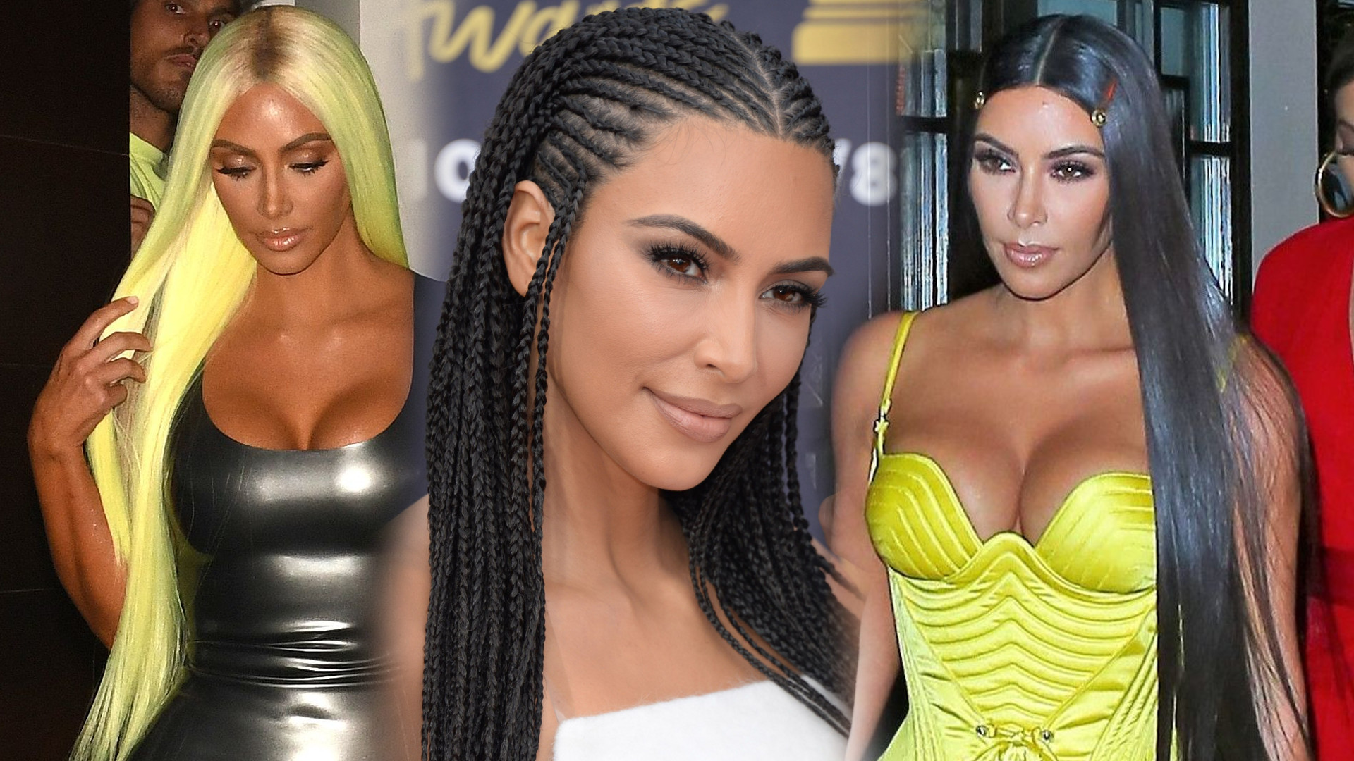 FRYZURY Kim Kardashian
