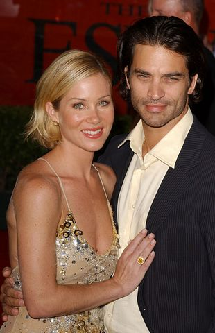 Christina Applegate na randce z byłym mężem