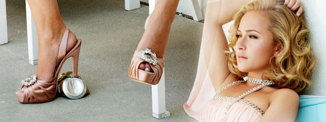 Hayden Panettiere w szwedzkim Elle (FOTO)