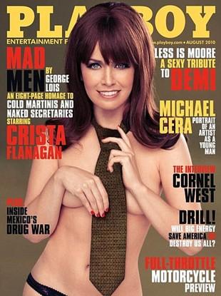 Gwiazda serialu Man Men vintage dla Playboya (FOTO)