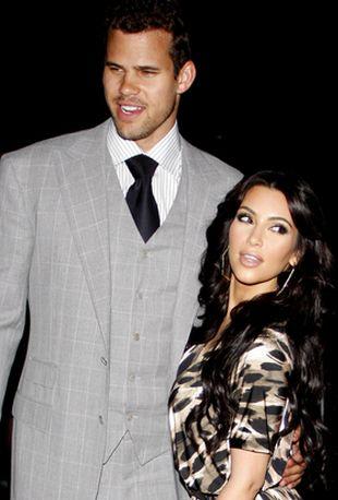 Przedślubne czułości Kim Kardashian i Krisa Humphriesa FOTO