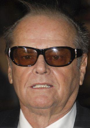 Staruszek Jack Nicholson