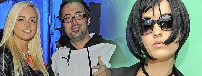 DJ Adamus oblał Sarę May winem