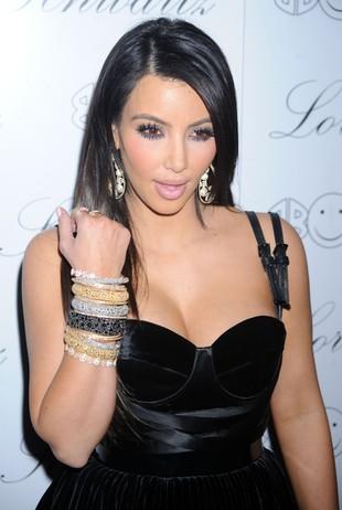Kim Kardashian przytyła, ale... (FOTO)