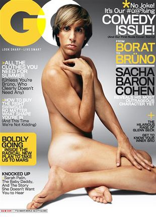 Sacha Baron Cohen zrzuca ciuszki jako Bruno