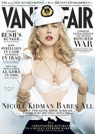 Nicole Kidman jest platynową blondynką!