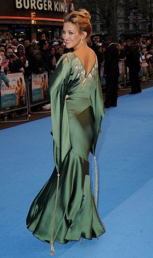 Kate Hudson i jej zielona kreacja (FOTO)