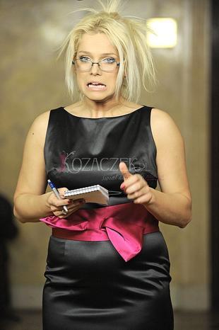 Joanna Liszowska w okularach (FOTO)