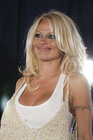 Pamela Anderson rozdaje używane majtki