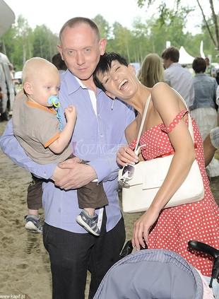Paweł Burczyk zabrał całą rodzinę na zieloną trawkę (FOTO)
